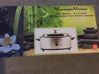 Hot stones massage kit