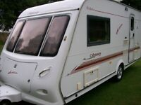 elddis odyssey 2 berth large end shower room one owner from new immaculate condition