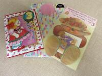 NEW Two Age 3 Birthday Cards & Wrapping