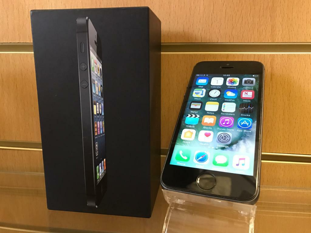 iPhone 5s Unlocked Boxed (XMAS GIFTin DundeeGumtree - iPhone 5s Black 16gbOpen to any networksImmaculate condition around, fully refurbished back cover iPhone 6 style and tempered glass fittedComes with box and charger Receipt & 30 days warranty if any parts fail apart from water and physical...