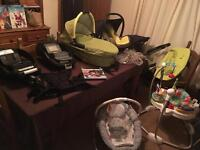 Quinney Buzz Travel System Plus Jumperoo and Bouncer
