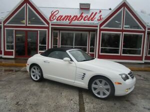 2005 Chrysler Crossfire Limited POWER HTD LTHR SEATS