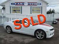 2010 Chevrolet Camaro 2SS 426HP V8!!TWO TONE HEATED LEATHER!! SU