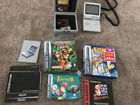 Gameboy Advance SP & games