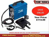 Draper Gasless Mig Welder Kit Deal With Kit Deal Wire & Mask MWD 100A GL