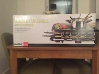 VonShef Raclette Grill with Fondue *Never Used*