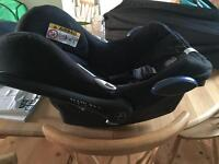 Baby's first car seat and base