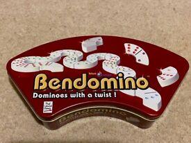 Like new Bendomino set (dominoes)