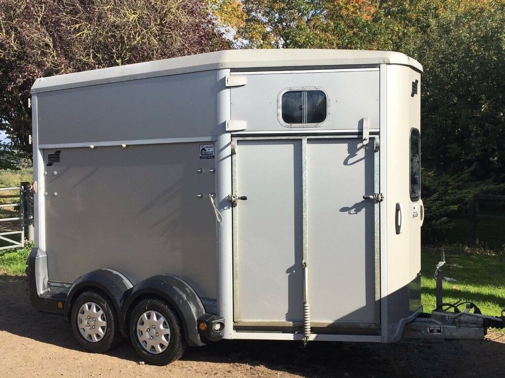 Ifor Williams HB511 Horse Trailer, 2011, Silver