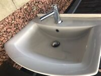 Brand New bathroom sink basin with tap EX showroom EXCELLENT condition