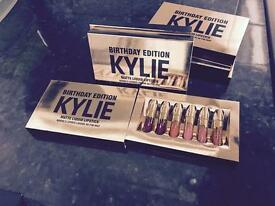 KYLIE JENNER LIMITED EDITION LIP KIT SET, BRAND NEW RRP £50 POSTED OR COLLECTION