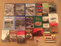 Large collection of Railway and Steam Train books and ephemera. All in fantastic condition