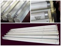 office 6 Fluorescent Tube With Fittings 58 Watt Energy Saver A class 5ft