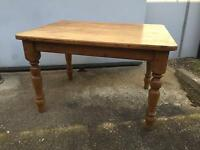 Vintage pine table