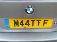 M44TTF - Number Plate