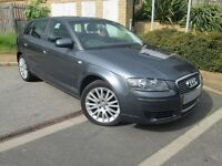 **L@@K 2008 RARE SPEC AUDI A3 SPORTSBACK 1.9 TDI** GENUINE LOW MILEAGE** LADY OWNER**