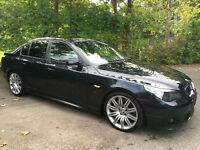2005 05 BMW 535D SPORT AUTO BLACK / 130K MIKES / HPI CLEAR /