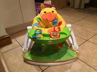 Fisher price sit me up giraffe chair