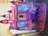 Disney princess barbie castle