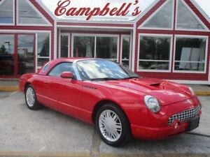 2002 Ford Thunderbird CONVERTIBLE! OPTIONAL TEAR DROP HARDTOP!!
