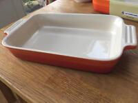Small le creuset rectangular dish
