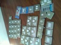 Assorted sockets switches plugs
