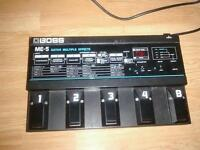 Roland Boss ME5 guitar pedal/effects board