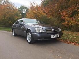 Mercedes Benz S600 Coupe Very Rare Car