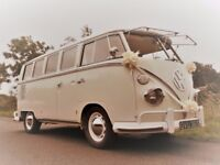 VW Splitscreen Campervan Deluxe Wedding Bus 1966