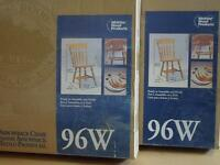 Solid Wood Chair Kits
