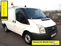 Ford Transit 2.2 300, Low Mileage 50K, 1 Owner From New, Full Service History, 1 Year MOT, Warranty