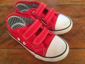Red Shoes/Trainers, child size 9