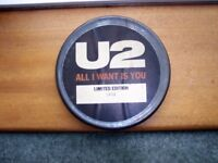 U2 Limited Edition Vinyl Record