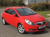 2009 (09) VAUXHALL CORSA++1.4 SXI++RED++RECENT FULL SERVICE++NEW TIMING BELT++BARGAIN++