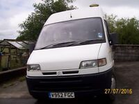Citroen Relay LWB Camper Van. 2 Berth. All mod cons.