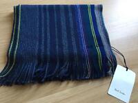 Paul Smith men's scarf bnwt rrp £125