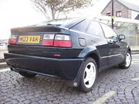 VW VR6 Corrado, faster and better than a Golf GTI! Good condition. Leather. No stupid bor-racer mods