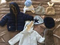 Baby boys winter clothes 6-9mths