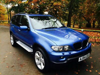 2004 54 BMW X5 3.0D SPORT INDIVIDUAL FACELIFT 120k MINT LOADED FULL HISTORY FSH