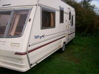 bailley pageant 5 berth 2000 with awning