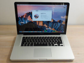 "Apple MacBook Pro 15"" Model A1286 2.4Ghz Core 2 Duo 4GB RAM 250GB HDD Oct 2008"