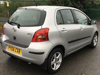 Toyota Yaris 1.4 Diesel D4D NewShape £30 Tax/Year, 60+ MPG, Like VW Polo, Nissan Micra