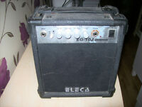 ELECA EG-10J PRACTICE AMP AMPLIFIER.COLLECT NEW MILTON AREA
