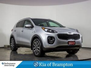 2017 Kia Sportage EX. HTD SEATS. LEATHER. BLUETOOTH