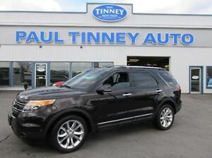 2013 Ford Explorer Limited 4WD Peterborough Peterborough Area image 1
