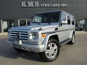2013 Mercedes-Benz G-Class G 550  CANADIAN   CLEAN CAPROOF  LOW