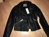 Brand new with tags biker jacket uk 6