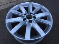 """VW 17"""" Porto alloy wheel"""