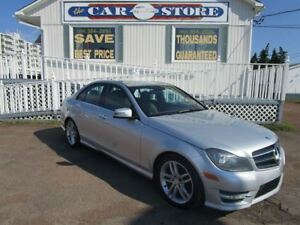 2014 Mercedes-Benz C-Class C300 4MATIC AWD SUNROOF HTD LEATHER A
