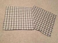 2 x Ikea cushion covers